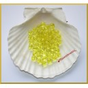 Perełki 8mm przeźroczyste żółte