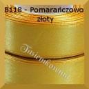 Tasiemka satynowa 25mm kolor 8018 pomarańczowo złoty
