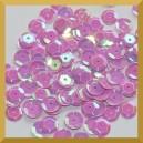 Cekiny kółka łamane 6mm 17g liliowe opalizujące - f21