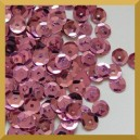 Cekiny 8mm łamane brudny róż metaliczne