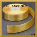 Tasiemka satynowa 25mm kolor 110 Stare złoto