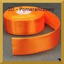 Tasiemka satynowa 25mm kolor 20 Pomarańczowa