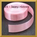 Tasiemka satynowa 25mm kolor 85 Jasno różowa