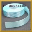 Tasiemka satynowa 25mm kolor 17 Blady niebieski