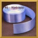 Tasiemka satynowa 25mm kolor 46 Niebieska