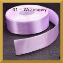 Tasiemka satynowa 25mm kolor 41 Wrzosowa