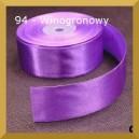 Tasiemka satynowa 25mm kolor 94 Winogronowa