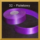 Tasiemka satynowa 25mm kolor 32 Fioletowa