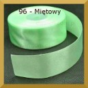 Tasiemka satynowa 25mm kolor 96 Miętowa