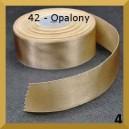 Tasiemka satynowa 25mm kolor 42 Opalona