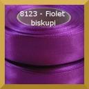 Tasiemka satynowa 6mm kolor 8123 fiolet biskupi