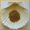 Perełki 3mm złote