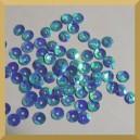 Cekiny 6mm niebieskie opalizujące