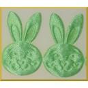 Główka króliczka jasno zielona