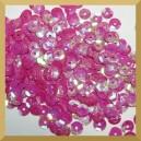 Cekiny 8mm łamane różowe opalizujące