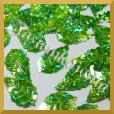 Cekiny liście zielone