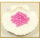 Perełki 8mm liliowe opalizujące