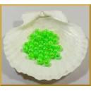 Perełki 8mm zielone opalizujące