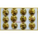 Diamenciki samoprzylepne 6mm ZŁOTY METALICZNY