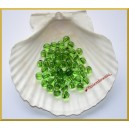 Perełki 8mm przeźroczyste zielone