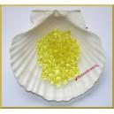 Perełki 8mm przeźroczyste żółte DP