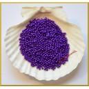 Perełki 3mm fioletowe perłowe