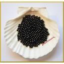 Perełki 4mm czarne