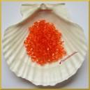 Diamenciki akrylowe przeźroczyste czerwone 6mm/7g