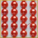 Perełki samoprzylepne ceglane perłowe 8 mm