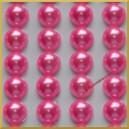 Perełki samoprzylepne blady róż perłowe 8 mm