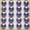 Perełki samoprzylepne błękitne perłowe 8 mm
