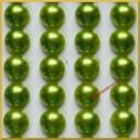 Perełki samoprzylepne oliwka 8 mm