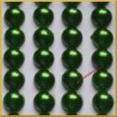 Perełki samoprzylepne zielone perłowe 8 mm
