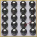 Perełki samoprzylepne stalowe perłowe 8 mm