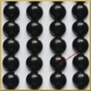 Perełki samoprzylepne czarne 8 mm