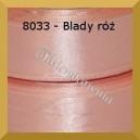 Tasiemka satynowa 6mm kolor 8033 blady róż/ 20szt.