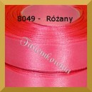 Tasiemka satynowa 6mm kolor 8049 różany/ 20szt.