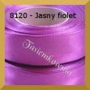 Tasiemka satynowa 6mm kolor 8120 jasny fiolet / 20szt.
