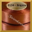 Tasiemka satynowa 6mm kolor 8134 brązowy /20szt.