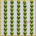 Perełki samoprzylepne 4mm JASNO ZIELONE