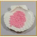 Perełki 6mm różowe