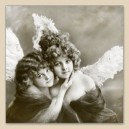 "Serwetka do decoupage """"Vintage Angels"""""