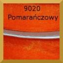 Tasiemka szyfonowa  6mm 32mb pomarańczowa