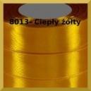Tasiemka satynowa 25mm kolor 8013 ciepły żółty