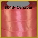 Tasiemka satynowa 25mm kolor 8043 cynober