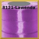 Tasiemka satynowa 25mm kolor 8121 lawenda