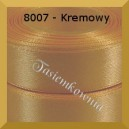 Tasiemka satynowa 12mm kolor 8007 kremowy