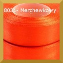 Tasiemka satynowa 25mm kolor 8031 marchewkowy