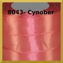 Tasiemka satynowa 12mm kolor 8043 cynober