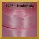 Tasiemka satynowa 12mm kolor 8047 brudny róż